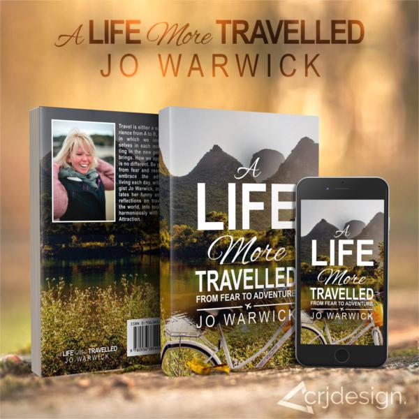 Travel Book Cover Design CRJ Design
