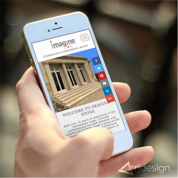 Stonemason Website CRJ Design