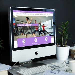 Yoga Website Design CRJ Design Newquay