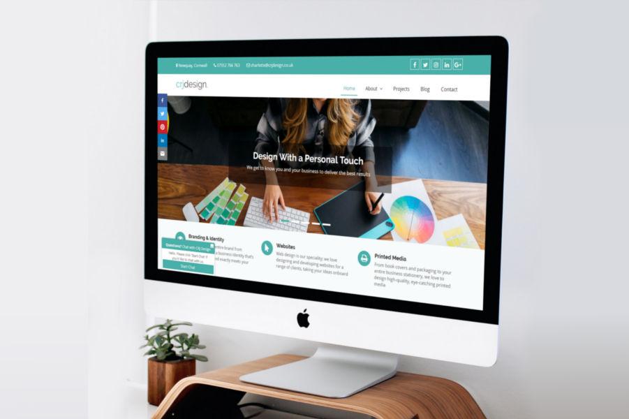 CRJ Design Web Design Newquay