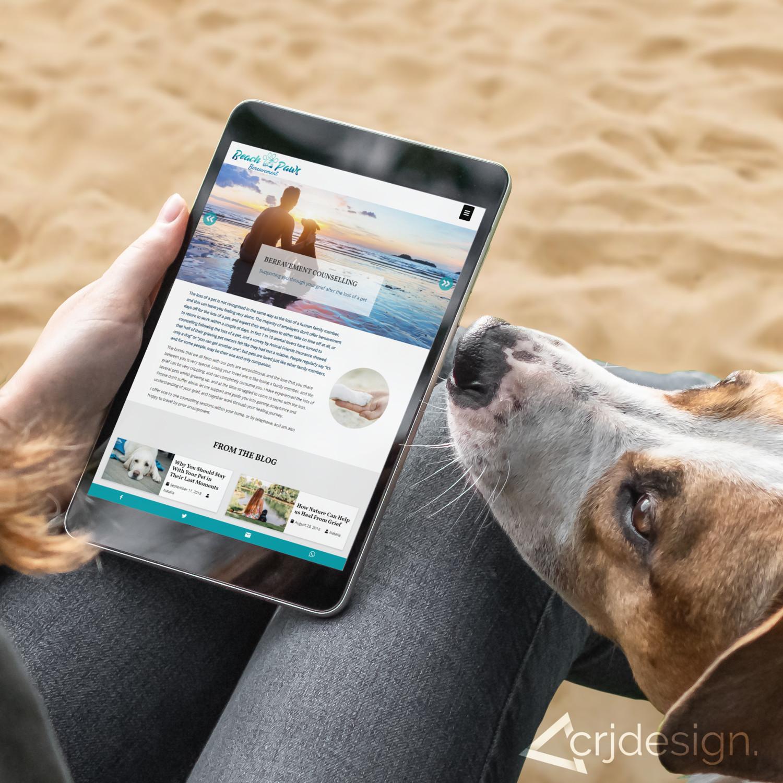 beach paws website