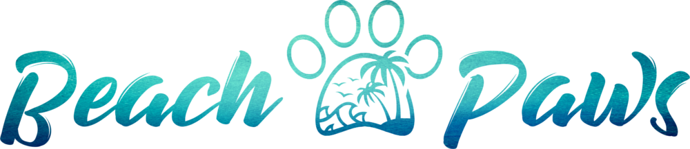 Beach Paws Dog Walking Newquay Logo Branding by CRJ Design